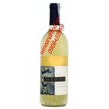 Rượu vang trắng Rock Brook 2012