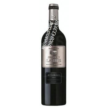 Rượu vang Bordeaux Chateau Laubes