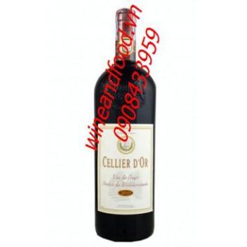 Rượu vang đỏ Cellier D'or