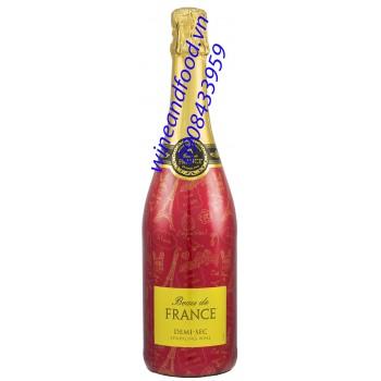 Rượu vang nổ Beau de France Demi Sec