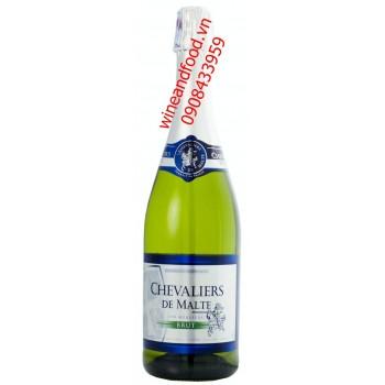 Rượu vang nổ Chevaliers De Malte Brut 750ml