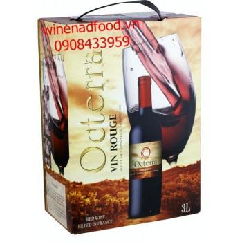 Rượu vang Octerra 3l
