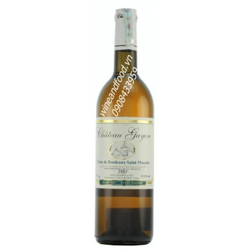 Rượu vang trắng Bordeaux Chateau Gayon 2007