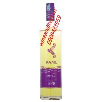 Rượu vang Kame Muscat 2013