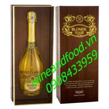 Rượu vang nổ Blonde hộp quà 750ml