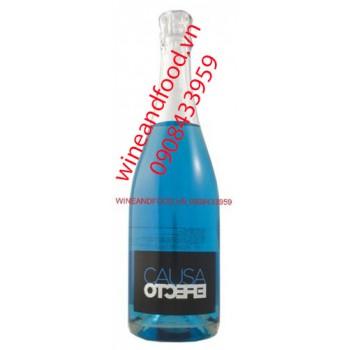 Rượu vang nổ Blue Sparkling Cause 750ml