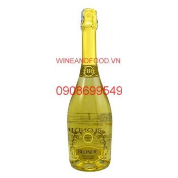 Rượu vang nổ có vàng Blonde