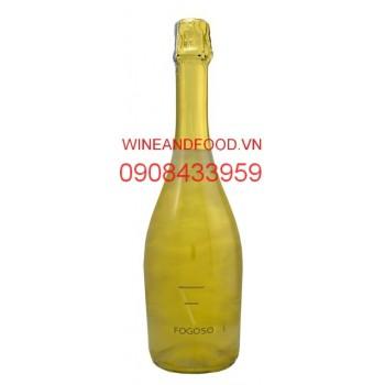 Rượu vang nổ Fogoso Oro 75cl