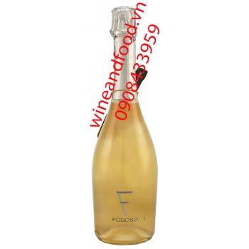 Rượu vang nổ Fogoso Plata 750ml