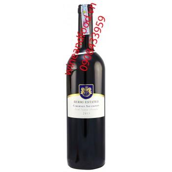 Rượu vang đỏ Berri Estates