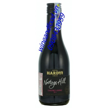 Rượu vang Hardys Nottage Hill cabernet shiraz 187ml