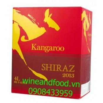 Rượu vang Kangaroo Shiraz 4l