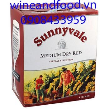 Rượu vang Úc Sunnyvale 4l