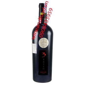 Rượu vang 3 Passo Rosso