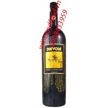 Rượu vang đỏ Dievole Novecento