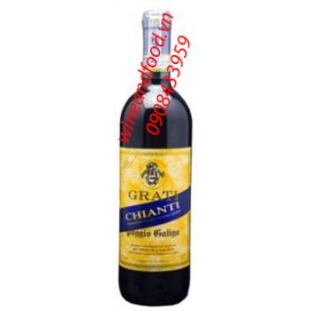 Rượu vang đỏ Grati Chianti