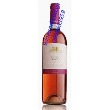 Rượu vang hồng Cuvee Rose Merlot Cabernet