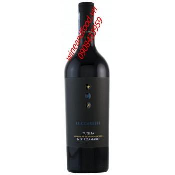 Rượu vang Luccarelli Puglia Negroamaro 2013