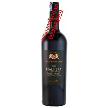 Rượu vang Malnera Negroamaro Malvasia Nera 2013