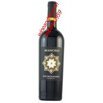 Rượu vang Manoro Negroamaro 2013