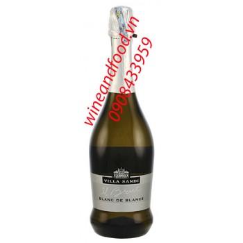 Rượu vang nổ Blanc de Blancs Villa Sandi 750ml