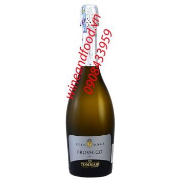 Rượu vang nổ Prosecco Tommast Filo Dora