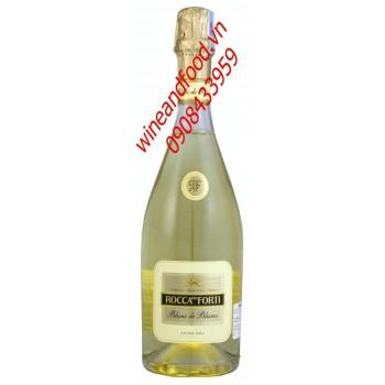 Rượu vang nổ Rocca Del Forti Blanc de Blancs 750ml