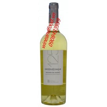 Rượu vang trắng 125 Malvasia Del Salento 750ml