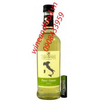 Rượu vang trắng Vescovino Pinot Grigio