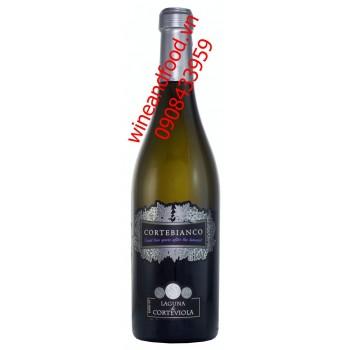 Rượu vang Ý Cortebianco Laguna di Corteviola 750ml