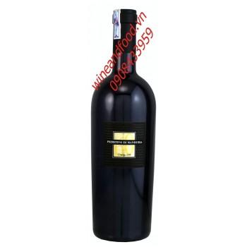 Rượu vang Ý Primitivo Di Manduria 750ml