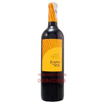 Rượu vang Malbec Juana de Sol