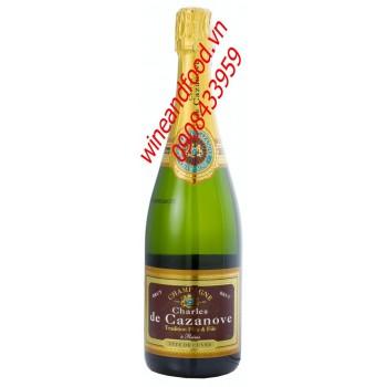 Rượu Champagne Charles De Cazanove 750ml