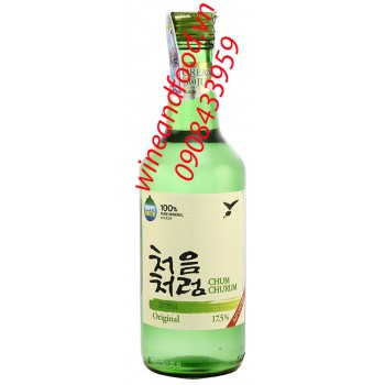 Rượu Soju Chum Churum Original 360ml
