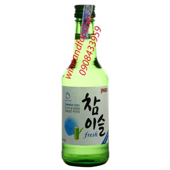 Rượu Soju Fresh Jinro 360ml
