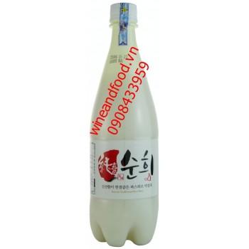 Rượu gạo Hàn Quốc Soony Makgeolli 750ml