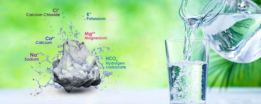 Nước suối khoáng chứa nhiều khoáng chất có lợi cho sức khỏe