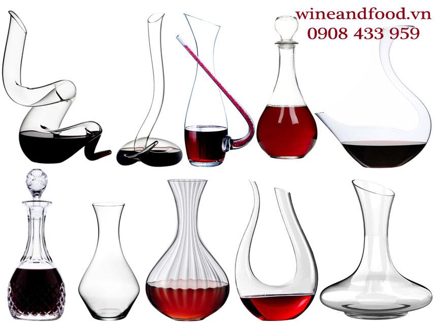 Decanter giúp cho rượu vang ngon hon và việc thưởng thức tao nhã hơn