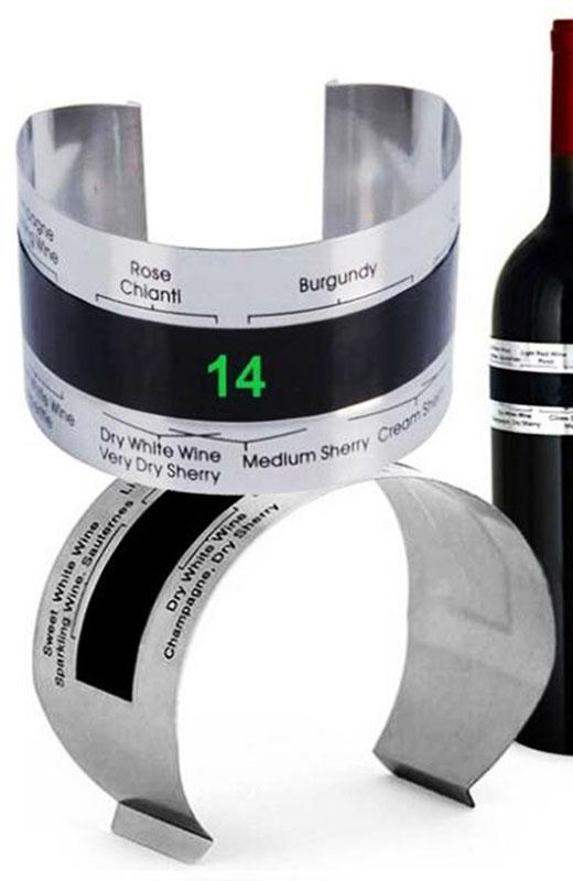 Dụng cụ đo nhiệt độ rượu vang