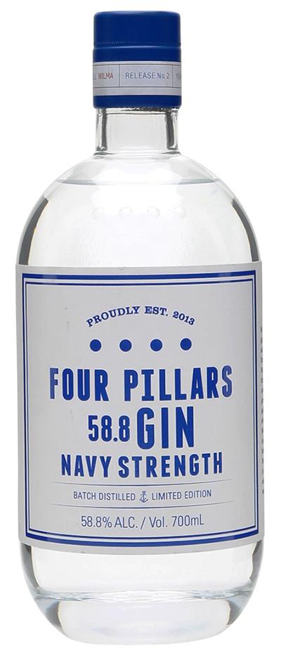 Một sản phẩm Navy Strength Gin