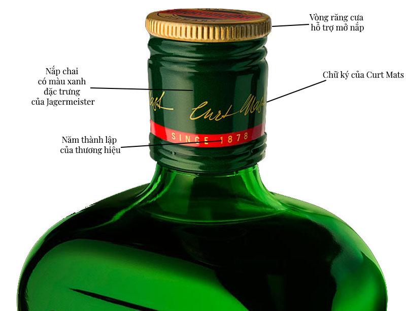 7 cách nhận biết rượu Jagermeister giả cực chuẩn xác