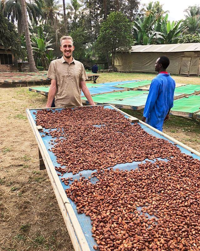 Lên men hạt Cacao