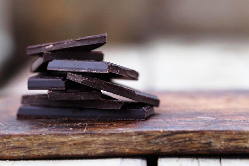 Socola đen chứa nhiều dinh dưỡng và khoáng