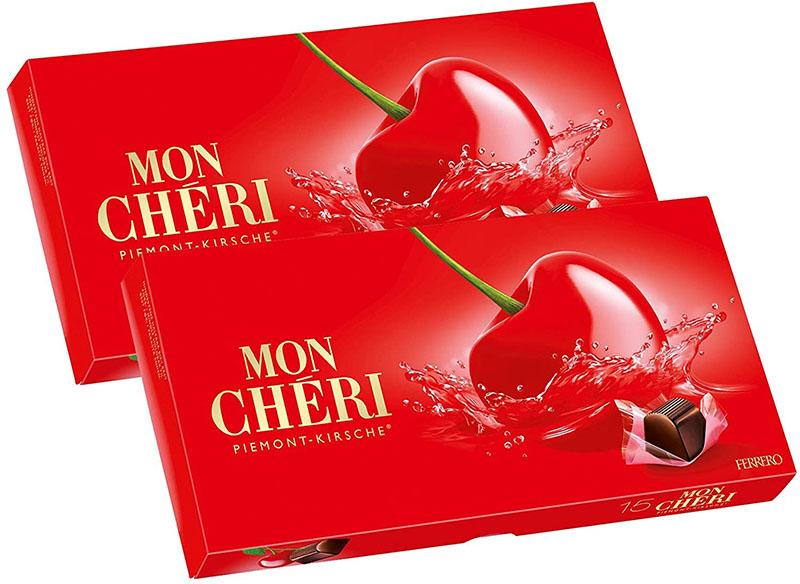 Socola rượu Mon Chéri là món quà lý tưởng cho bạn gái
