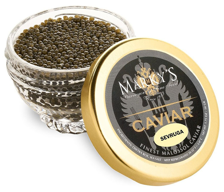 Trứng cá tầm Sevruga Caviar Malossol